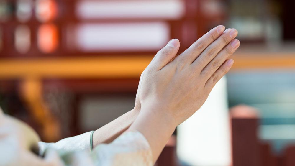 新年初祈祷-出雲大社埼玉分院